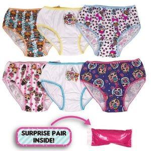 L.O.L. Surprise! Purple multicolored underwear set